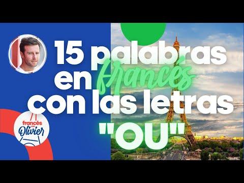 """Aprende francés en 30 días: 15 palabras con las letras """"ou"""" - Clase 31"""
