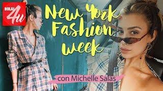 FOLLOW ME AROUND: Un día en NY FASHION WEEK   Con Michelle Salas