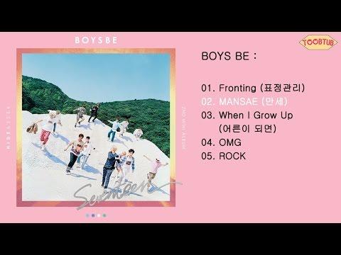 [Full Album] SEVENTEEN (세븐틴) - BOYS BE [2nd Mini Album]