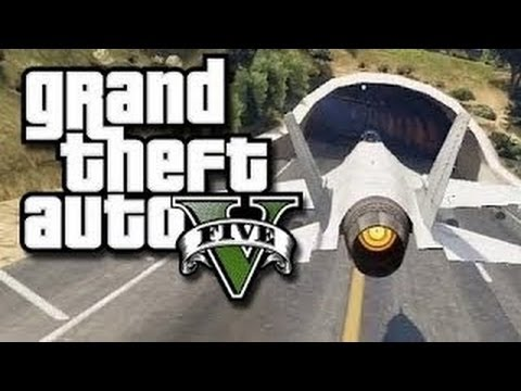 GTA 5 Online How To Siege The Military Base - Failed Attempt At Stealing Flying Jets & Cars - Smashpipe Games