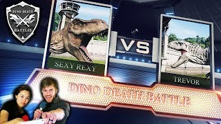 SEXY REXY vs TREVOR THE INDOMINUS REX ◊ Dinosaur Death Battles (Jurassic World Evolution Dub)