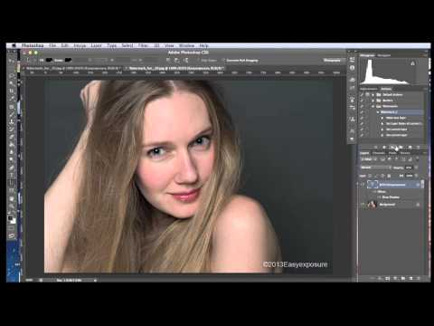Lesson 24 - How to Watermark Images in Photoshop (batch process)