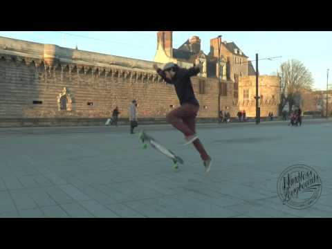 Video MINDLESS Longboard CORE DANCER GUM