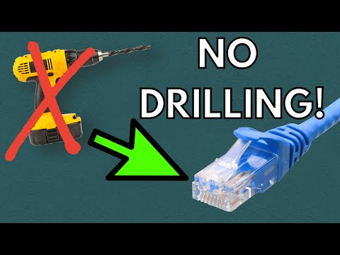 Need to Run Ethernet Without Drilling? Try THIS!