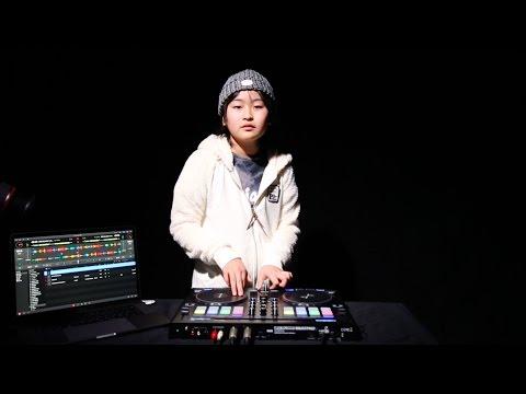 DJ RENA ★ djay Pro ★ Reloop Beatpad 2