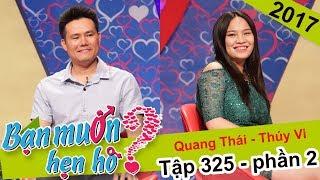 Cát Tường hoảng hốt với ông chủ kinh doanh 31 tuổi chưa hôn lần nào | Quang Thái - Thúy Vi |BMHH 325