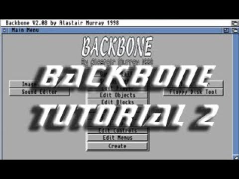 Backbone Amiga Tutorial 2
