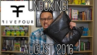 Five Four Club Unboxing   August 2016
