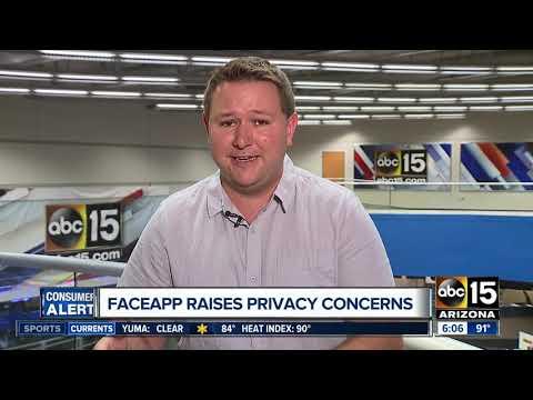FaceApp raises privacy concerns