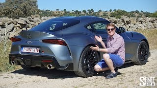 First Drive in the Toyota GR Supra - My New Car!