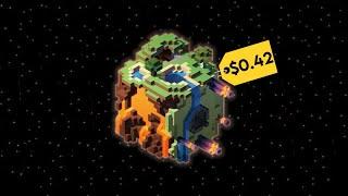 How Much is a Minecraft World Worth?