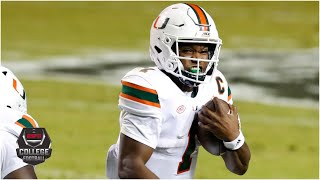 Miami Hurricanes vs. NC State Wolfpack   2020 College Football Highlights