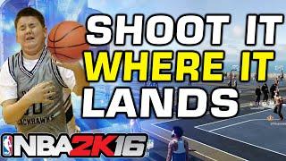 NBA 2K16 Shoot it Where it Lands Challenge