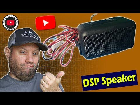 BHI DSP Speaker on the Yaesu FTdx-10   BHI NES10-2 MK4 Speaker