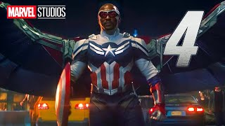 Captain America 4 Marvel Movies Announcement - Falcon and Winter Soldier Easter Eggs