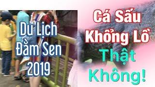 Vlogs 12-Vườn thú Đầm Sen 2019/ Zoo in Dam Sen Park
