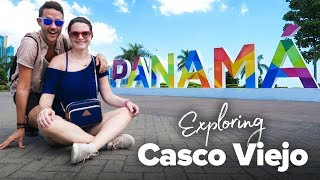 Exploring Casco Viejo in Panama City