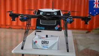 Pizza delivery drones: Domino's New Zealand to release pizza delivery drones next month - TomoNews