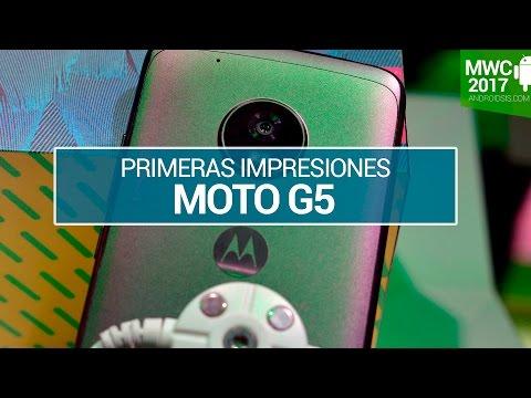 Moto G5 primeras impresiones en MWC17