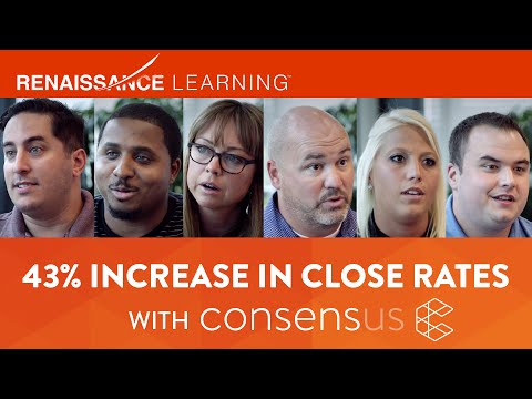 Renaissance Learning boosts close rate 43% with Consensus