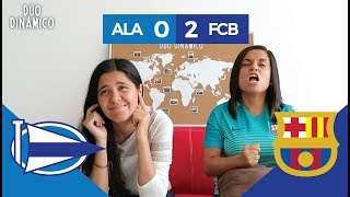 Reacción al ALAVÉS vs BARCELONA, doblete de LEO MESSI (0-2) | Duó Dinámico