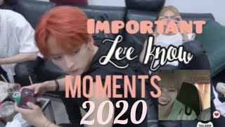 Lee know ( lee Minho) funny moments 2020 edition part 1
