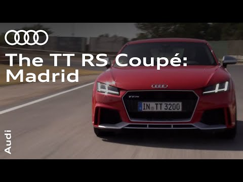 The new Audi TT RS Coupé: Circuit Training