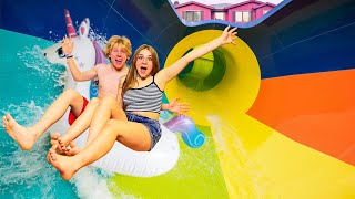TURNING MY BACKYARD INTO A WATERPARK!!💦 | Piper Rockelle
