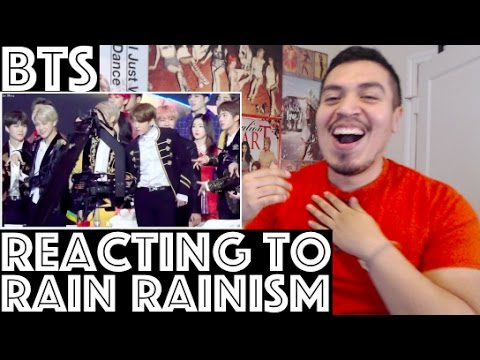 BTS Reacting/Reaction to RAIN - RAINISM @Golden Disc Awards FANCAM REACTION