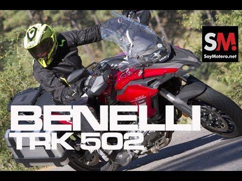 Benelli TRK 502 2017: Prueba Moto Trail [FULLHD]
