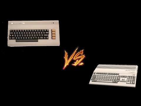 Directitos in the Middle of the night: Amiga vs. Commodore64