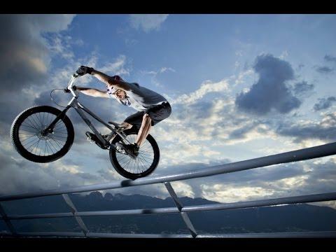 Trials Biking Through a Cargo Port w/ Kenny Belaey