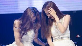Jiyeon Eunjung funny moments - 170401 Bangkok Fanmeeting 티아라 지연 은정 직캠