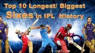 Top 15 Biggest Sixes In IPL History Ever Ever