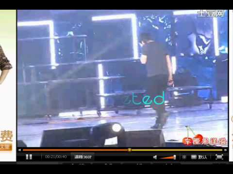 heechul accident at ss3 shanghai