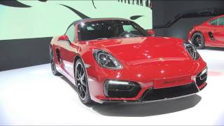 Boxster GTS/Cayman GTS: *Combined fuel consumption in accordance with EU 6: 9.0 – 8.2 l/100 km, CO2 emission 211 - 190 g/km