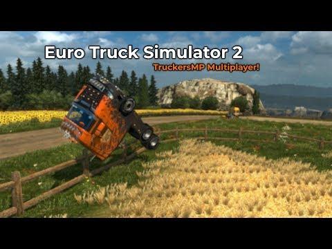 Euro Truck Simulator 2  TruckersMP Opname 12072018