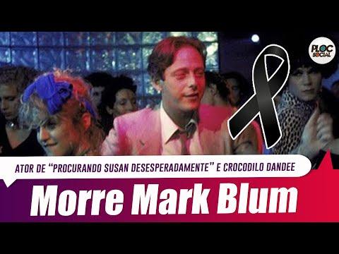 MORRE MARK BLUM, O CROCODILO DANDEE