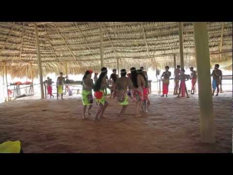 Isla Palenque, Panama | The Island Interns | Visiting with the Embera Tribe in Tusipono