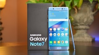 Samsung Galaxy Note 7: Unboxing & Review