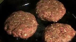 How to make Great Hamburgers