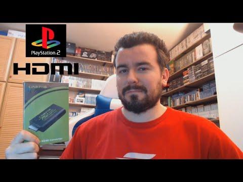 PS2 a HDMI mediante adaptador ¿QUÉ TAL SE VE DE CALIDAD? ¿MERECE LA PENA?