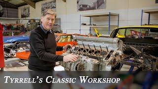 Lamborghini Miura S - Restoration begins on £1.25 million barn-find | Tyrrell's Classic Workshop