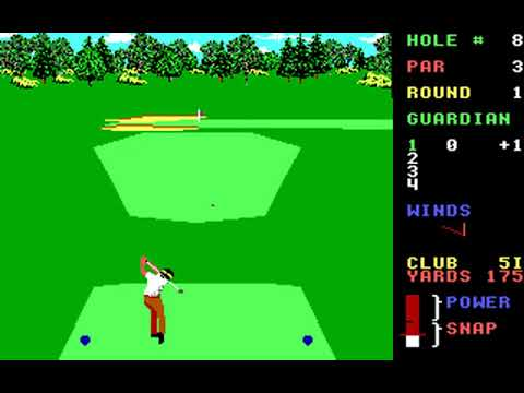 World Class Leader Board (Course C: St Andrews) (Access) (MS-DOS) [1989] [PC Longplay]