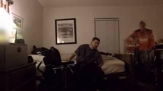 My Quad Life - C5-6 quadriplegic chair to bed transfer