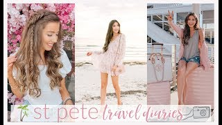 st. pete travel vlog | VACATION OUTFIT IDEAS + TRAVEL GUIDE ☀️