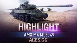 Французский новичок. AMX M4 mle. 49