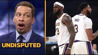 """UNDISPUTED   Chris Broussard Claims that """"100 %"""" LeBron and AD will defeat Kawhi, Clippers tonight"""