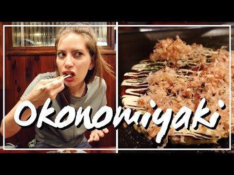 Okonomiyaki (お好み焼き) - Traditional Osaka Food in Japan