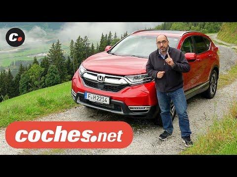Honda CR-V 2018 SUV | Primera Prueba / Test / Review en español | coches.net
